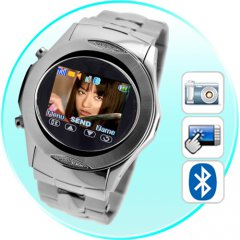 Assassin - Quad Band Touchscreen Mobile Phone Watch + MP4